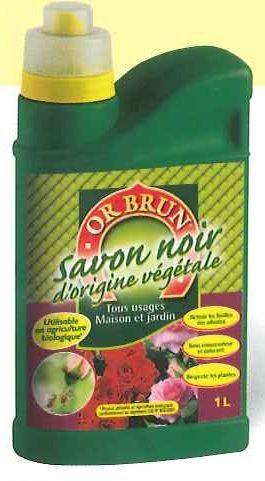 Savon noir d 39 origine vegetale - Puceron rosier savon noir ...
